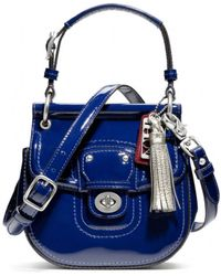 Coach Patent Mini New Willis - Lyst