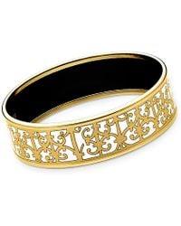 Hermès Balcons Du Guadalquivir Bracelet gold - Lyst