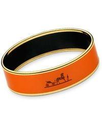 Hermès Calèche Bracelet orange - Lyst