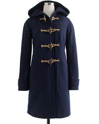 J.Crew Toggle Coat in Woolcashmere with Thinsulate - Lyst