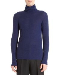 Lanvin Turtleneck Sweater - Lyst