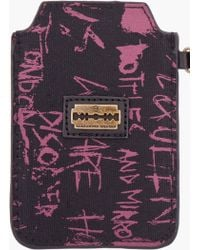 McQ - Quilted Razor Blade Iphone Case - Lyst
