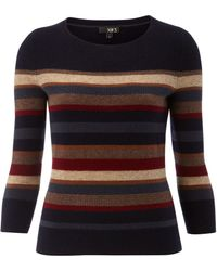 NW3 by Hobbs - Willow Stripe Jumper - Lyst