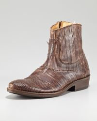 True Religion | Laser Etched Ankle Boot | Lyst