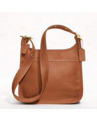 Coach Classic Legacy Zip Shoulder Bag In Leather - Lyst