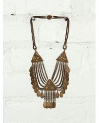 Free People Vintage Choker Necklace - Lyst