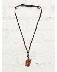 Free People Vintage Handmade Necklace - Lyst