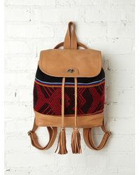Free People Sadie Print Backpack - Lyst