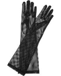 Jil Sander - Long Mesh Gloves - Lyst