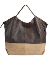 Le Solim - Large Leather Bag - Lyst