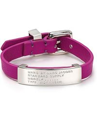 Marc By Marc Jacobs Standard Supply Id Bracelet - Lyst