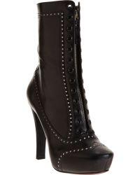 Nina Ricci   Spectator Platform Ankle Boot   Lyst