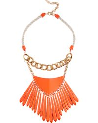 Sass & Bide - One Fine Day Coatedbrass Necklace - Lyst