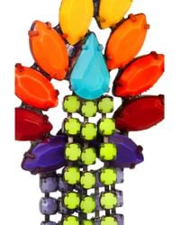Tom Binns - Riri Painted Swarovski Crystal Earrings - Lyst
