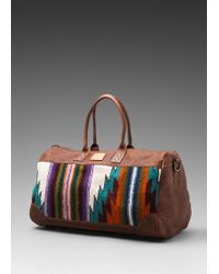 Will Leather Goods Oaxacan Duffle Bag - Lyst