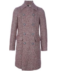 Chatcwin - Wood Lana Pea Coat - Lyst