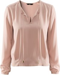 H&M Blouse pink - Lyst
