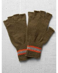 Jack Spade Hutchinson Fingerless Gloves green - Lyst