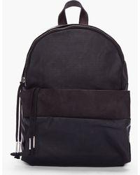 Silent - Damir Doma -  Leather Trimmed Bango Backpack - Lyst