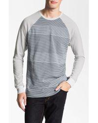 Wesc Hayes Stripe Long Sleeve Tshirt - Lyst