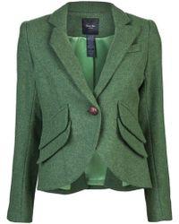Smythe Pocketed Blazer green - Lyst