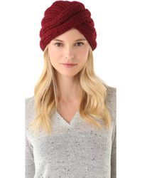 Eugenia Kim Dominique Wool Turban Hat - Lyst