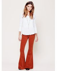 Free People Super Flare Cord - Lyst