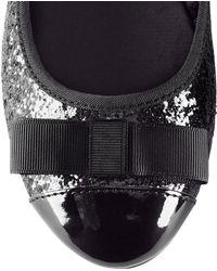 H&M Black Ballet Pumps - Lyst