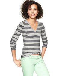 Gap Supersoft Heritage Stripe T - Lyst