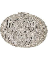 Topshop Oval Diamante Clutch - Lyst