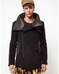Unconditional - New Funnel Neck Coat - Lyst