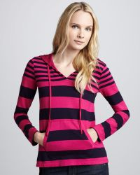Splendid Cambridge Striped Hooded Top - Lyst