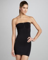 La Perla Shapewear Dress Black - Lyst