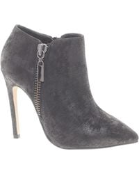 Carvela Kurt Geiger Samba Black Pointed Shoe Boots - Lyst