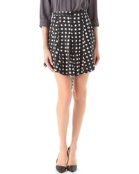 Kelly Wearstler Nautilus Print Skirt - Lyst