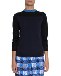 Marni Contrast Trim Sweater - Lyst