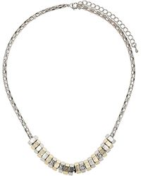 Topshop Ditsy Bolt Collar Necklace - Lyst