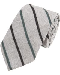 Band of Outsiders - Diagonal Striped Tie - Lyst