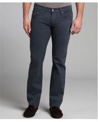 James Jeans - Vassar Stretch Twill Travis Straight Leg Pants - Lyst