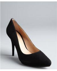 Pour La Victoire Neysa Leather and Suede Platform Sandals - Lyst
