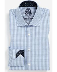 English Laundry Trim Fit Dress Shirt - Lyst