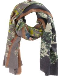 Epice - Sky Floral Scarf - Lyst
