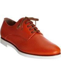 Fendi Marcello Oxford orange - Lyst