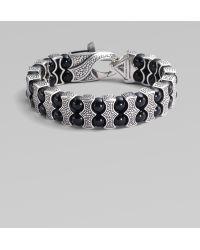 Stephen Webster - Black Onyx & Sterling Silver Bracelet - Lyst