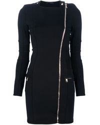 Balmain Asymmetric Dress - Lyst