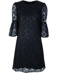 Dolce & Gabbana Lace Dress black - Lyst