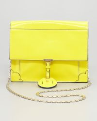 Jason Wu Jourdan Chain Crossbody Bag Yellow - Lyst