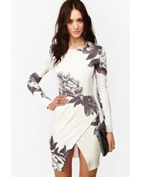 Nasty Gal Madison Floral Dress - Lyst