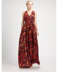 Rachel Zoe Silk Julianna Gown - Lyst