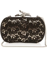 Diane Von Furstenberg Lytton Small Lace Clutch Bag - Lyst